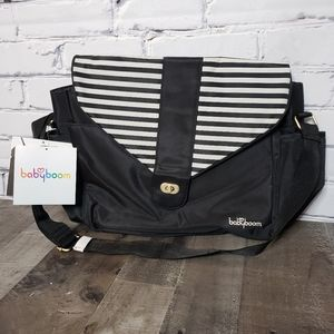 Babyboom Striped Diaper Bag
